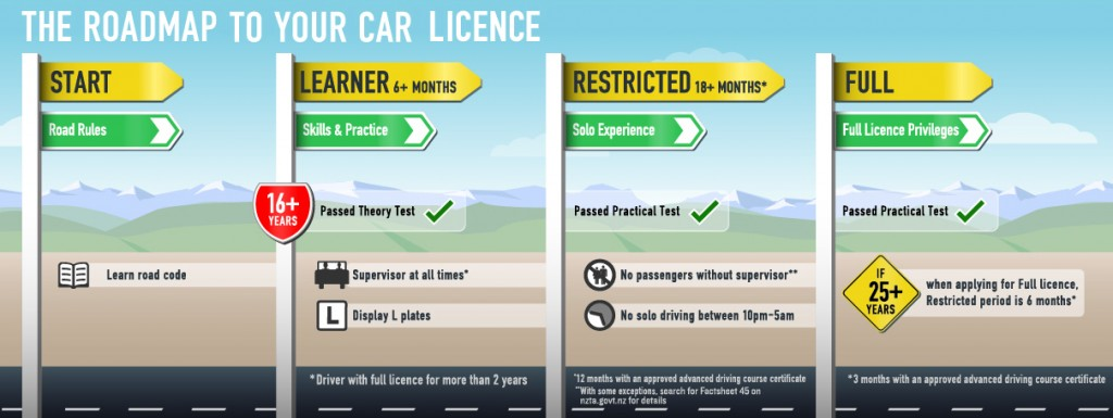 process of getting your license